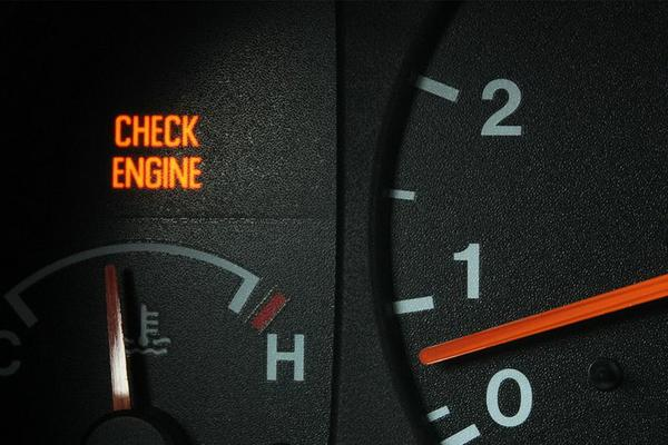 Причины загорания «check engine»